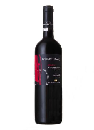 mitravela-red-on-black